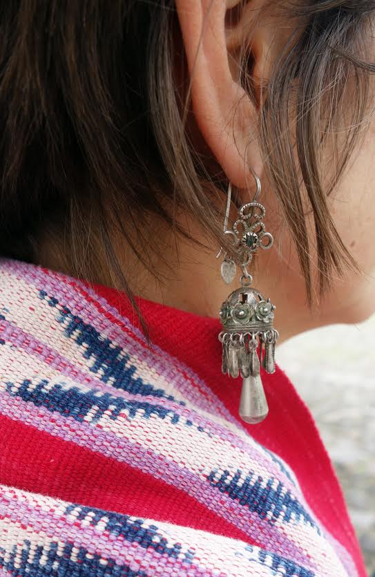 Stunning Antique Guatemalan Teardrop Earrings with Filagree from the Spanish Colonial Period
