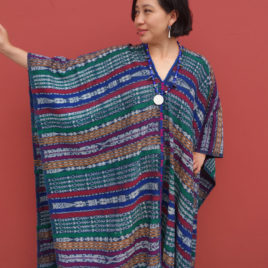 Caftan from Vintage Maya Skirt Textile 009 – SOLD