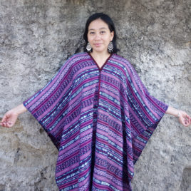 Caftan from Vintage Maya Skirt Textile 003 – SOLD