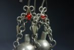 Antique Coin Water Jug Earrings Guatemala ca. early to mid 20th century from Stephanie Jolluck of Coleccion Luna